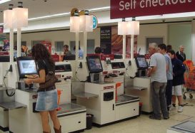 The problem with supermarkets and self service checkouts