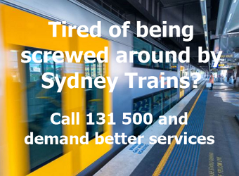 sydney trains demand better