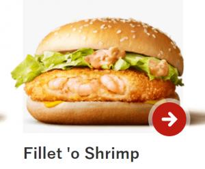 McFillet of Shrimp