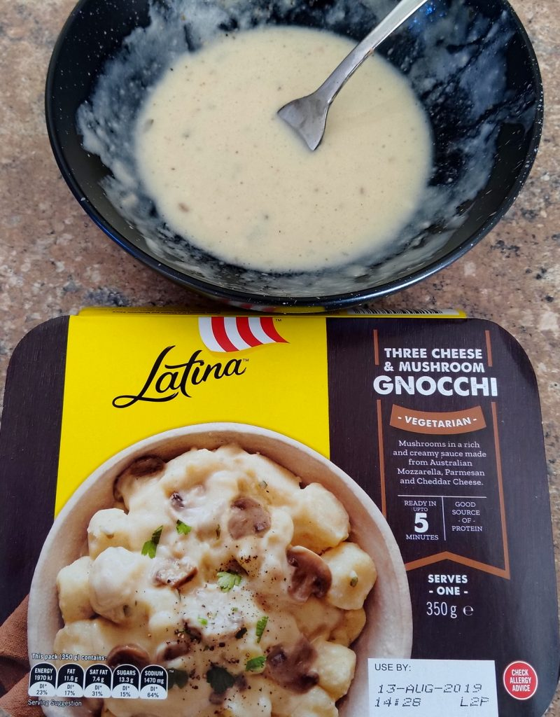 Latina Three Cheese and Mushroom Gnocchi