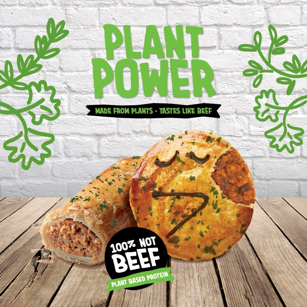 Pie Face Plant Based Sausage Roll
