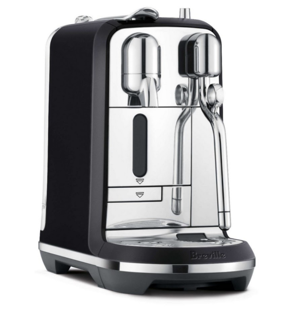 Our pick for the best coffee pod machine Australia has to offer: Breville Nespresso Creatista Plus