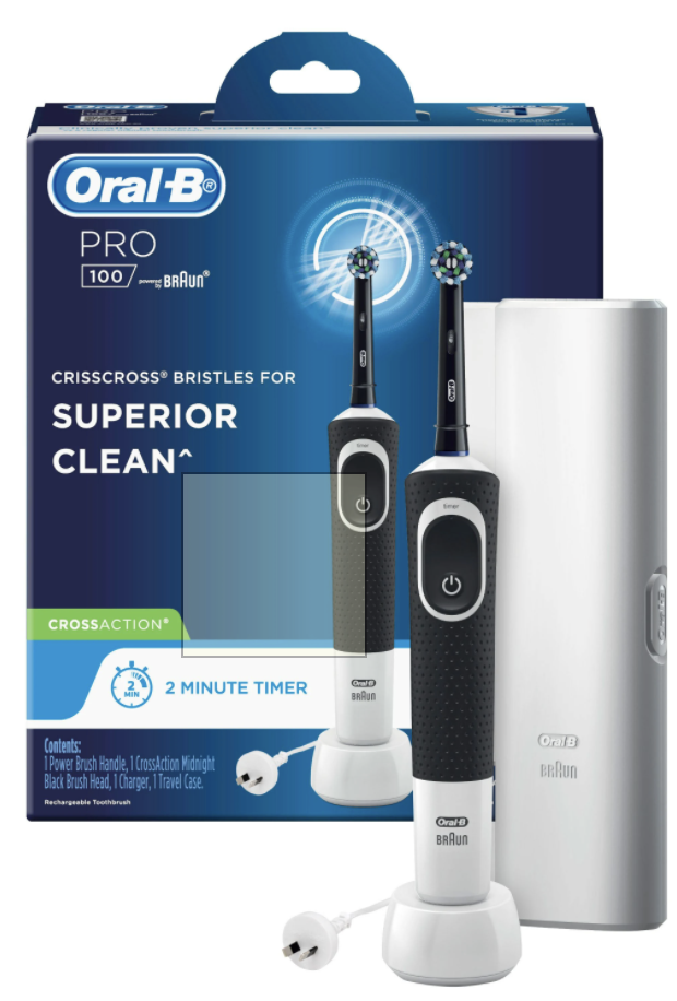 The Best Electric Toothbrush Australia: Oral-B PRO 100 Cross action