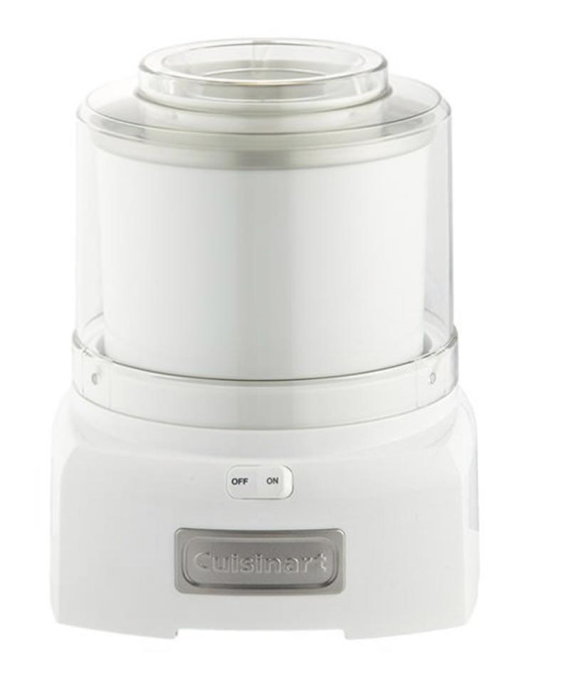 Cuisinart Ice Cream & Frozen Yoghurt Maker 1.5L White