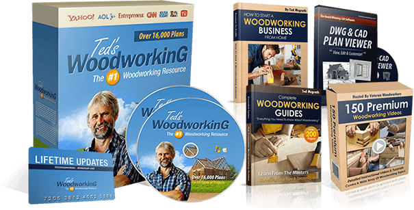 Teds Woodworking Pack